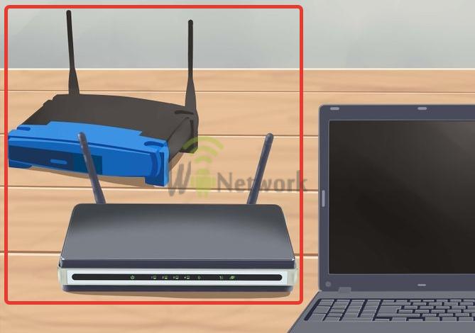 2 wifi роутера и ноутбук