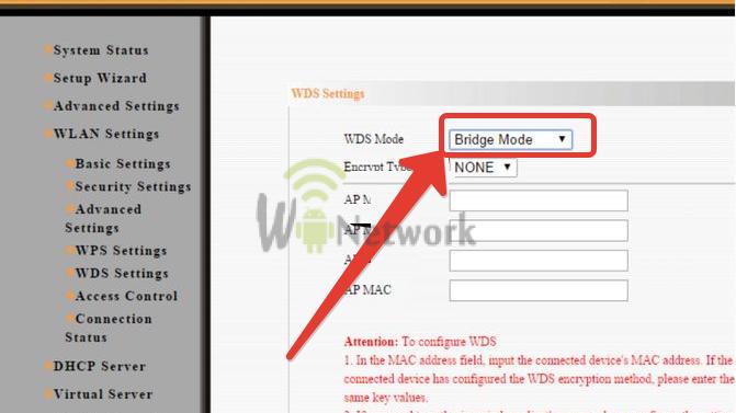 bridge mode на wifi роутере