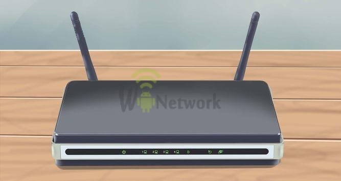 wifi роутер на столе