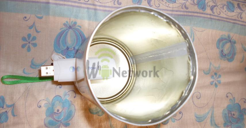Как усилить сигнал 3g модема мегафон в домашних условиях