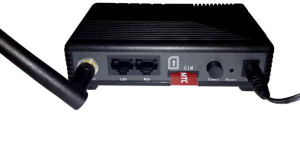 3G/4G роутер имеет слот для SIM-карты
