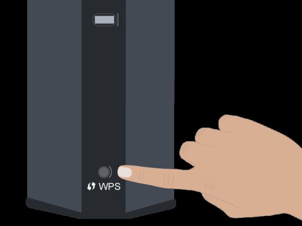 Технология WPS обеспечивает быстрое подключение Wi-Fi