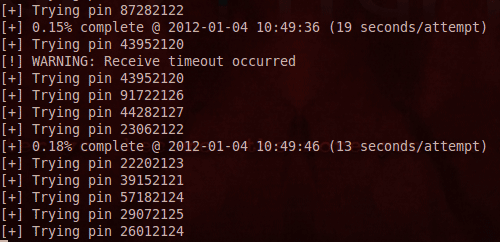 Подбор клиентского PIN-кода