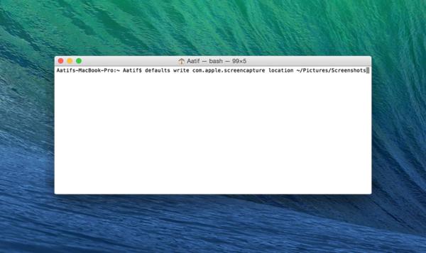 Адрес сохранения скриншотов