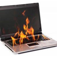 Четыре самых распространенных причины перегрева ноутбука