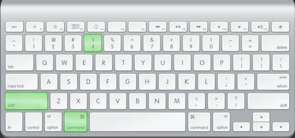 Сочетание клавиш для скриншота