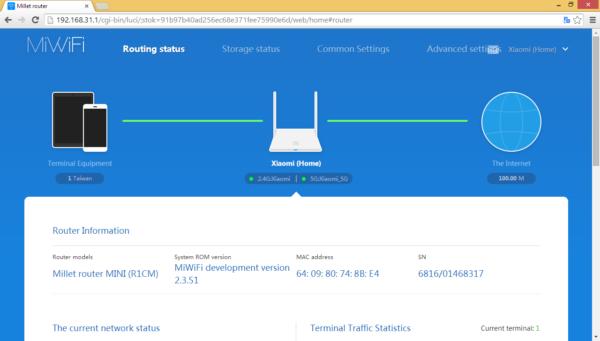 Основная информация о схеме локальной сети