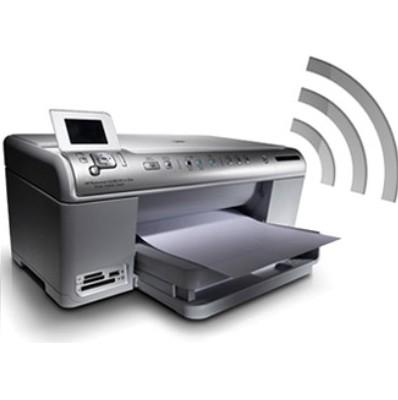 Алгоритм и схема подключения любого принтера к компьютеру через роутер WiFi