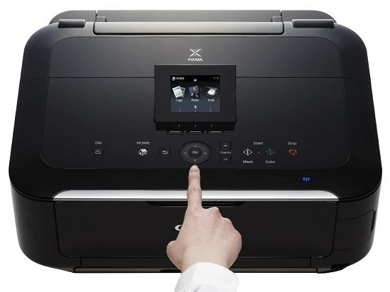 Верхняя панель принтера