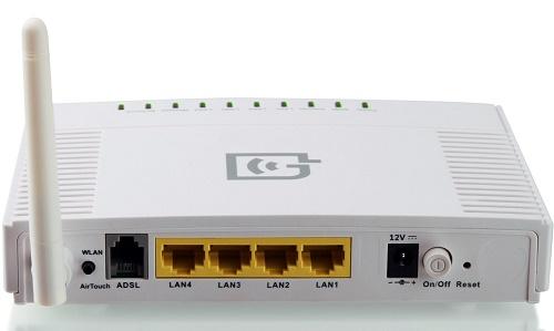 ADSL роутер с поддержкой сети Wi-Fi