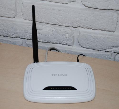 Беспроводной маршрутизатор TP-Link TL-WR741ND
