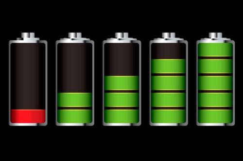 Показатель емкости зарядки в трее Windows