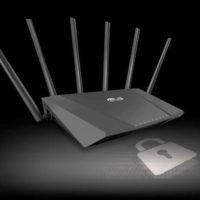 Установка или замена пароля в панели управления роутером