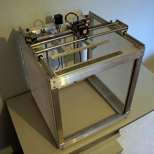 Корпус 3d принтера из поликарбонатных профилей