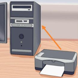 Инструкция: подключение принтера к компьютеру