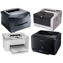 Классификация типов принтеров